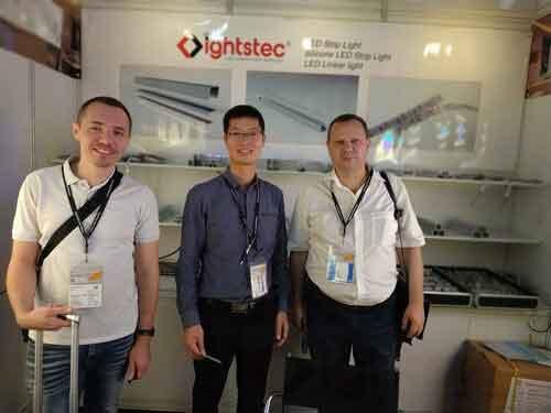 lightstec-factory-in--hong-kong-lighting-fair--2018-led strip light
