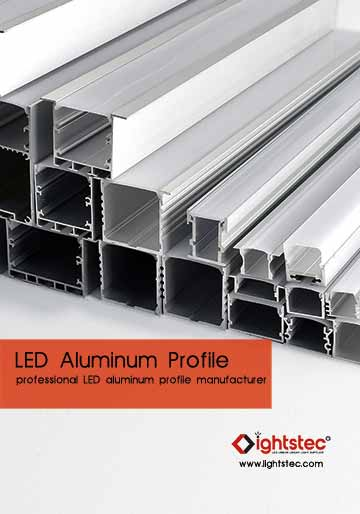 LED ALUMINUM PROFILE CATALOG - LIGHTSTEC