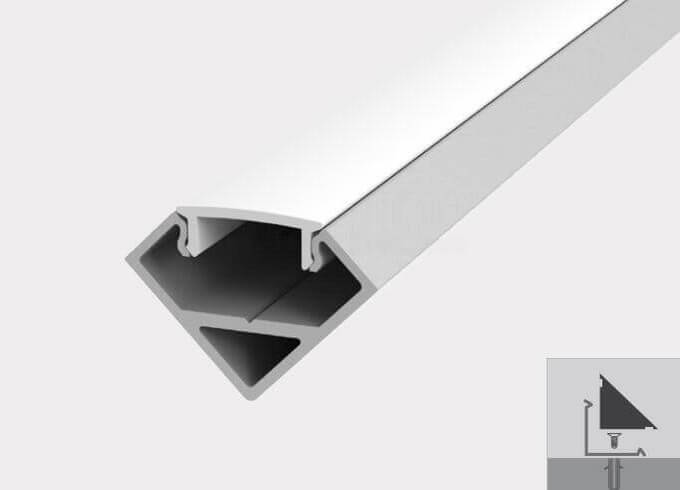 Led linear light fixture for corner lightstec