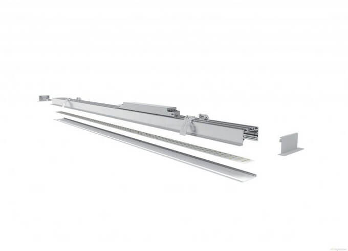 Recessed led linear light fixture lightstec