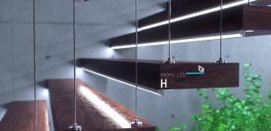 led linear light under stair lightstec
