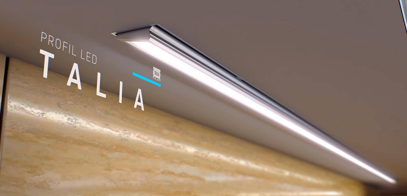 led linear light with angle lightstec