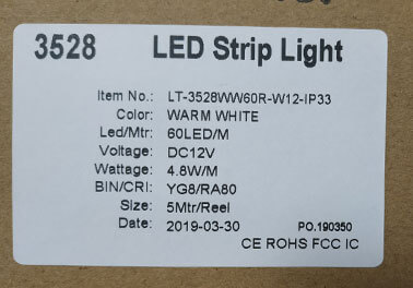 led-strip-light-label