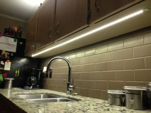 led cabinet light under cabinet