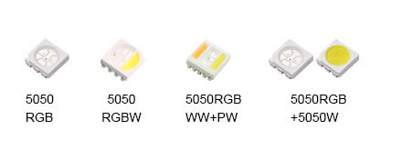 TYPES OF SMD5050-LED-CHIPS