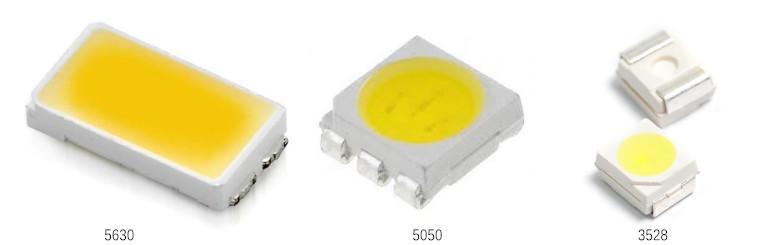 SMD5630 vs SMD5050 vs SMD3528 LED