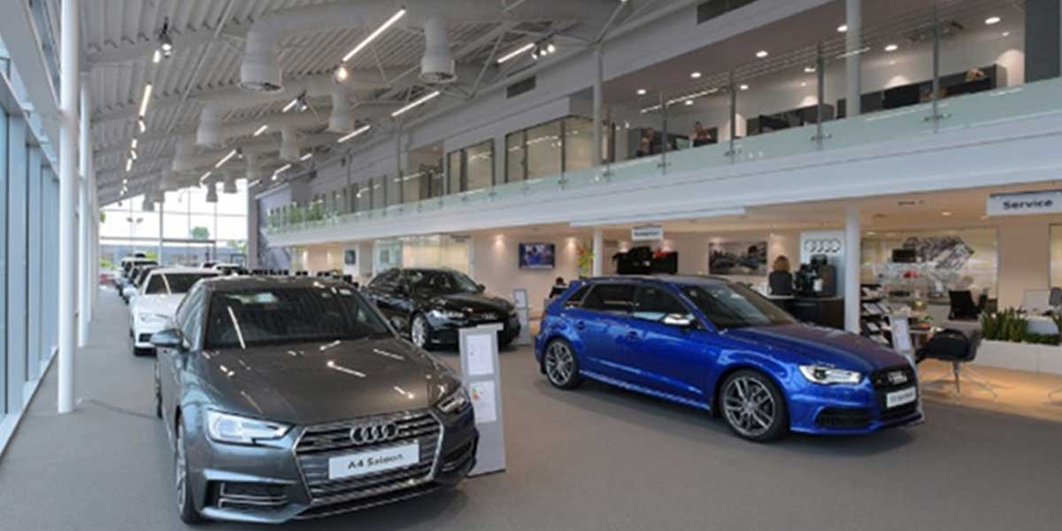 AUDI-SHOWROOM-LED-LINEAR-LIGHT