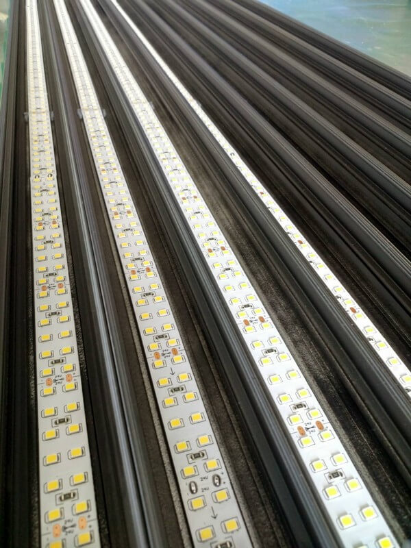 led linear light embed in factory