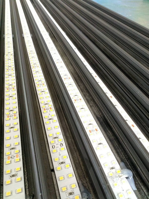 led linear light embed production