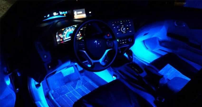 Car Lightusing led strip light