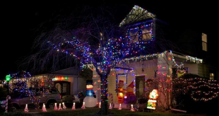 Holiday Lightingusing led tape light
