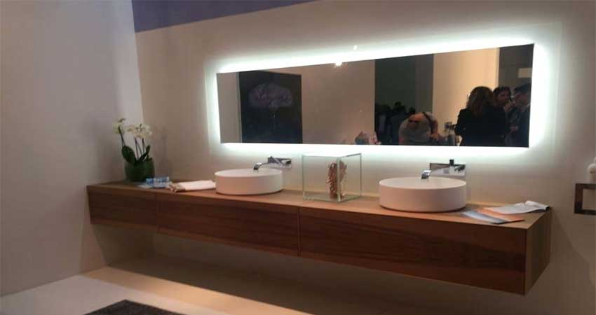 Mirror Lighting using led strip light