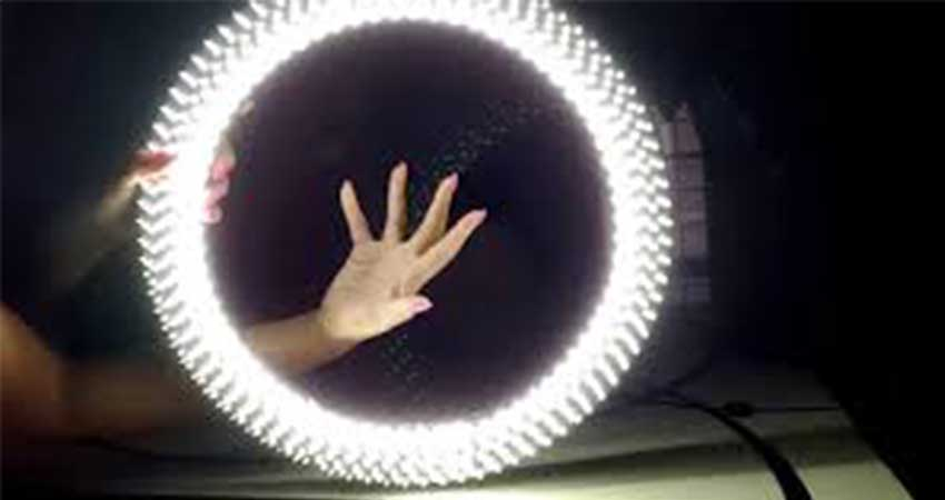 Photography Lightingusing led strip light