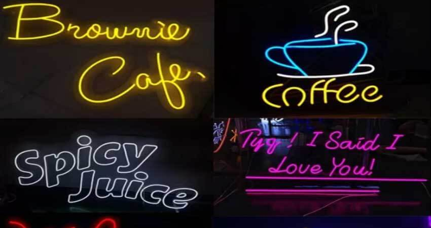 Signage and Advertisement Lighting using led strip light