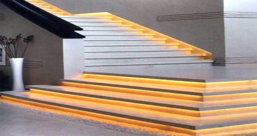 Staircase Lightingusing led strip light