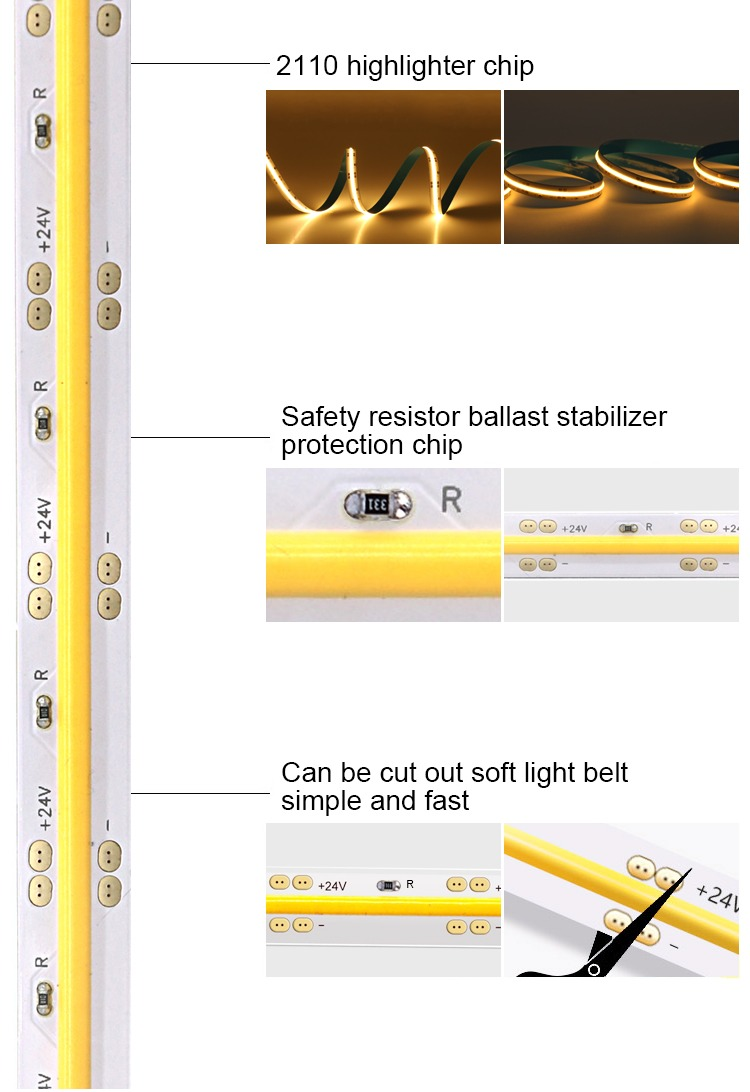 COB led strp light -lightstec detail