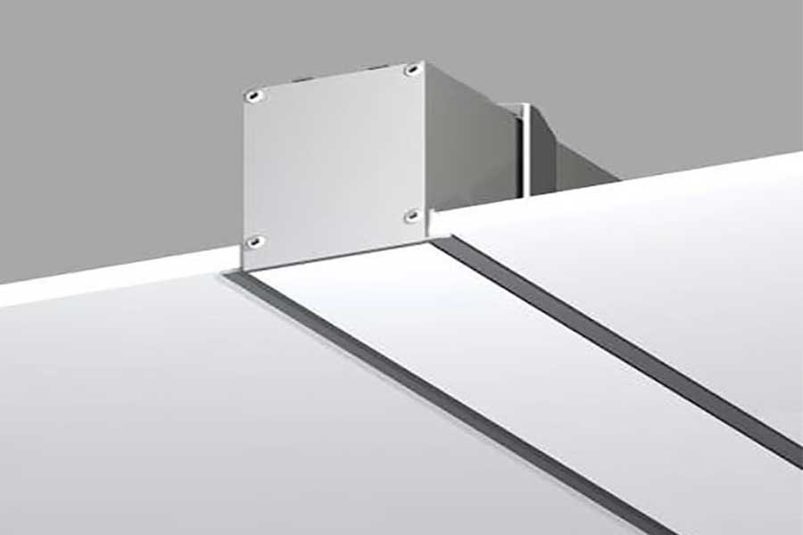Recessed-linear-light
