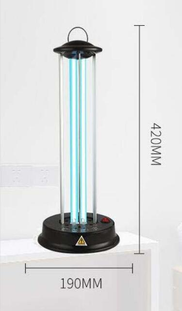 UV LAMP SIZE