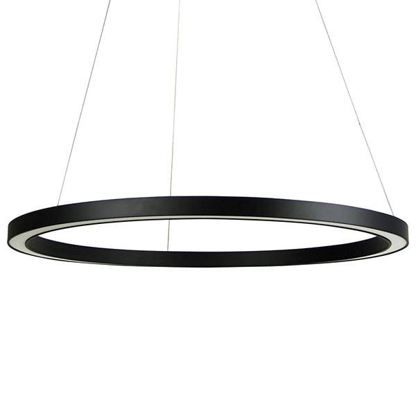 black-led-circle-light