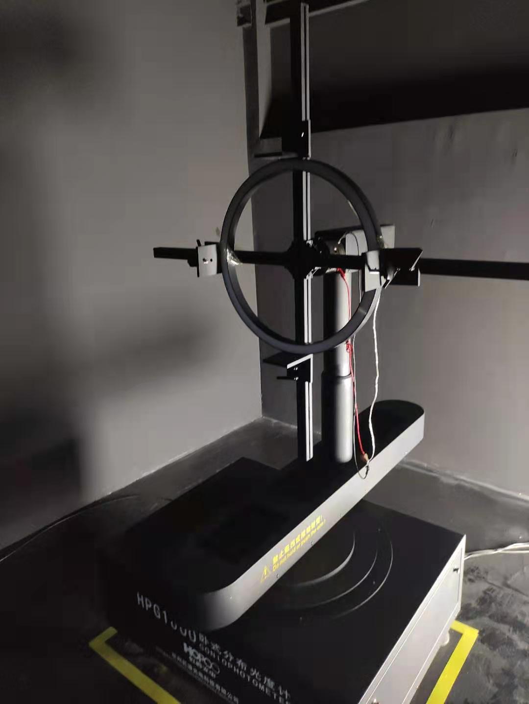 LED circle light IES test