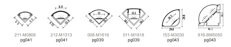 Corner light series