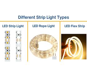 types-of-led-strip-light